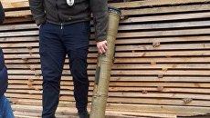 У похитителей ребенка в Киеве нашли тубус от противотанковой ракеты