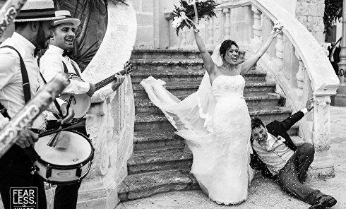 Самые необычные свадебные фото