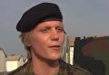 Комбат Настя. Трансгендер впервые возглавил немецкий батальон. Видео