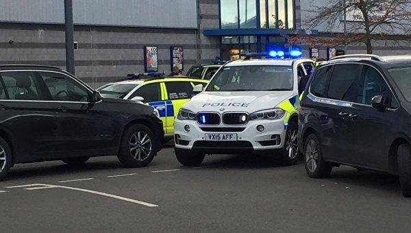 На месте захвата заложников в британском городе Нанитон