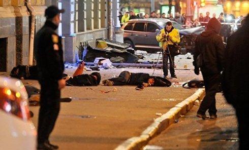 На месте смертельного ДТП в Харькове