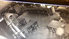 В США камеры наблюдения зафиксировали призрака. Видео