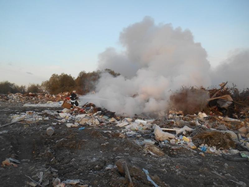 Неподалеку от аэропорта «Борисполь» произошел пожар насвалке