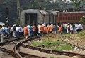 ЧП с поездом в Индии