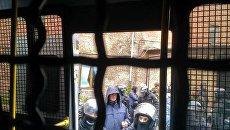 Спецназовцы в Святошинском райсуде Киева задержали около 20 активистов
