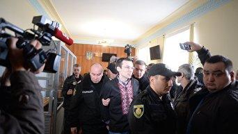 Суд по делу журналиста Василия Муравицкого.