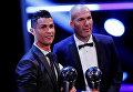 ФИФА вручила в Лондоне награды героям года.
