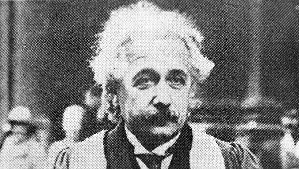 Лауреат Нобелевской премии физик Альберт Эйнштейн