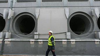 Новое хранилище отработанного ядерного топлива