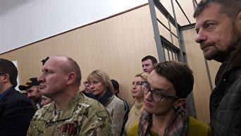 Николай Коханивский, 25 октября 2017 в зале суда