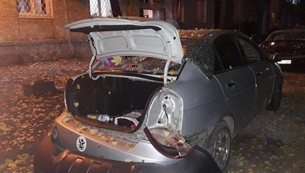 На месте взрыва авто нардепа Игоря Мосийчука