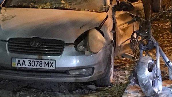 На месте взрыва в Киеве, в котором ранен Игорь Мосийчук