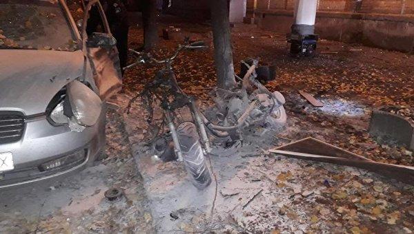 Взрыв возле авто нардепа Игоря Мосийчука в Киеве