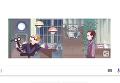 Дудл Google в честь юбилея Служебного романа