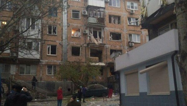 ВДНР проинформировали обобстреле школы вДонецке силами ВСУ