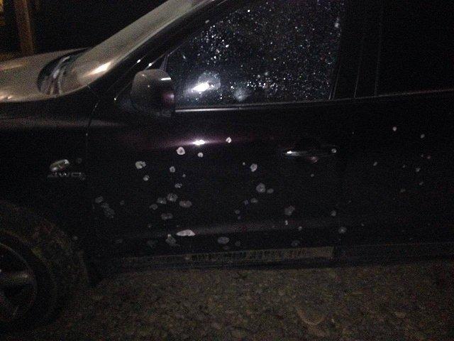 НаЗакарпатье неизвестные бросили гранату вавтомобиль местного жителя