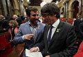 Глава Каталонии Карлес Пучдемон. Архивное фото