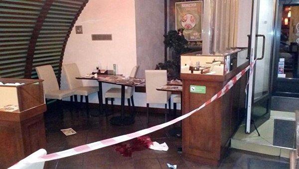 В ресторане в центре Киева произошла стрельба