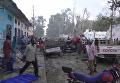 На месте теракта в Сомали, 29 октября 2017