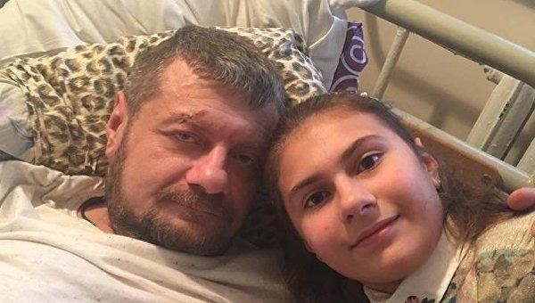 Игорь Мосийчук в больнице