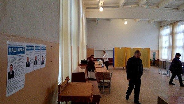 ВДнепропетровской области неизвестные разгромили избирательный участок ипобили полицейских
