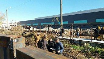 Захват воинской части в Одессе