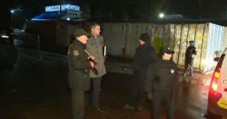 На месте гибели Амины Окуевой под Киевом