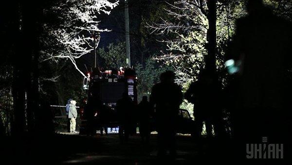 Убийство Амины Окуевой. Работа экспертов на месте происшествия