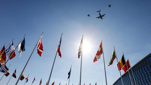 Флаги стран НАТО