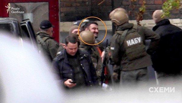 Алекснадра Авакова в окружении силовиков привезли в НАБУ. Архивное фото