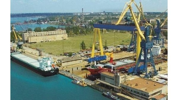 ВНиколаеве остановился судостроительный завод— нет денежных средств надостройку ракетного крейсера