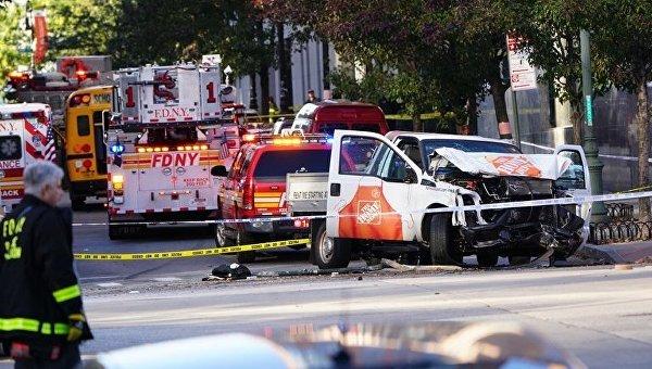 НаМанхэттене фургон  врезался втолпу людей: 6 человек погибли