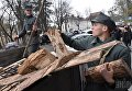 Театрализованное военно-историческое действо «Провозглашение ЗУНР» во Львове