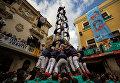 Фестиваль Кастелей: как в Каталонии строят замки из людей