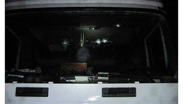 Нападение на грузовик в Черниговской области
