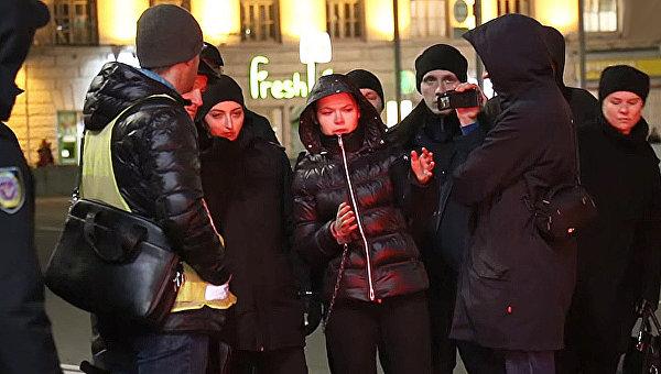 Харьковская катастрофа: водителя Touareg привезли наместо ДТП внаручниках
