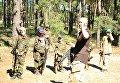 Тренировка в лагере с военно-патриотическим уклоном Херсонская Спарта