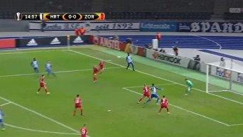 Матч Лиги Европы Герта - Заря. Видео