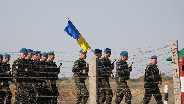 Украинские десантники. Архивное фото