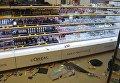 Харьковчанин устроил погром в магазине косметики