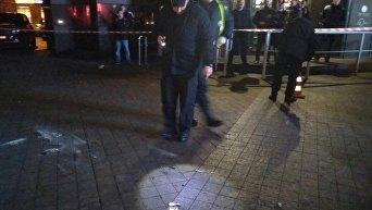 В Арена-Сити в центре Киева бросили взрывпакет