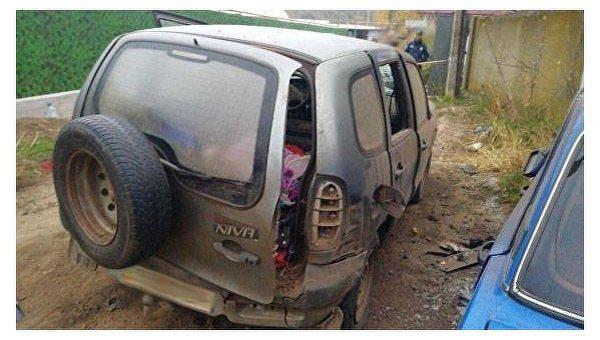 ВОдесской области водителя взорвали всобственной иномарке
