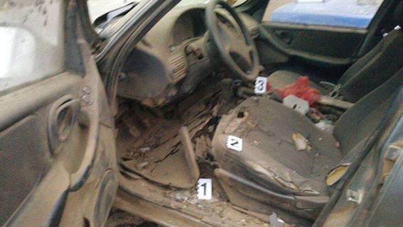 ВОдесской области взрыв автомобиля Шевроле забрал жизнь водителя