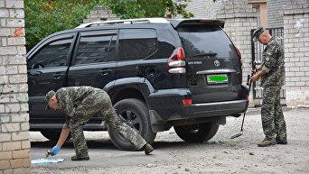 Заминированный автомобиль депутата городского совета Николаева