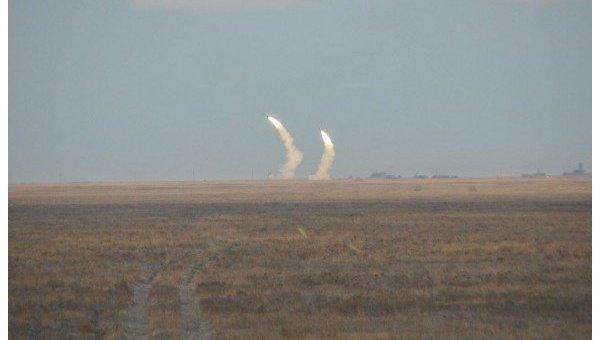 Военные провели ракетные испытания близ Крыма