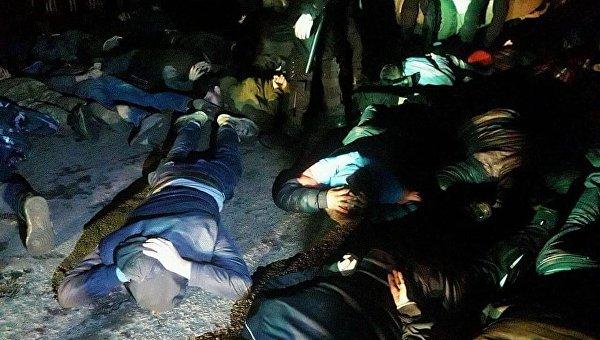 Полиция задержала несколько десятков рейдеров в Полтавской области