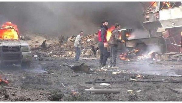 Террористы взорвали заминированный автомобиль в центре скопления беженцев в окрестностях Дейр-эз-Зора