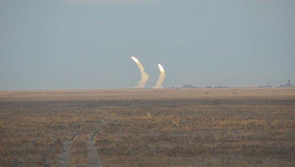 В Херсонской области ВСУ провели масштабные стрельбы из Буков, С-300 и Ос