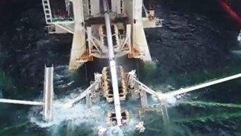 Газпром довел Турецкий поток до границы Турции. Видео