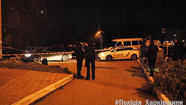 На месте стрельбы в Харькове